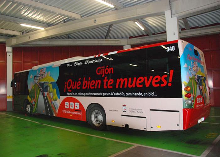Gijón, ¡Qué bien te mueves!